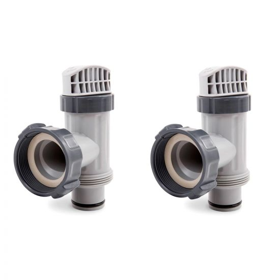 Intex | 25080RP | Above Ground Plunger Valves with Gaskets and Nuts