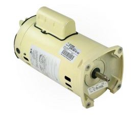 Pentair 071320S 1.5HP 2 Speed Square Flange Motor 220V