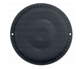 Afras Anti Vortex Drain Cover 7 3/8 inch Black, 11064BK