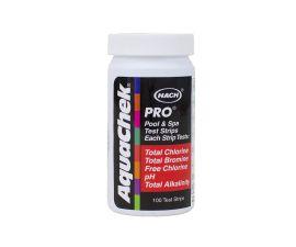 Aquachek Pro 5 in 1 Chlorine Test Strips 100 pack 511710