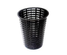 Hayward Leaf Canister Small Basket Black | AXW431ABK