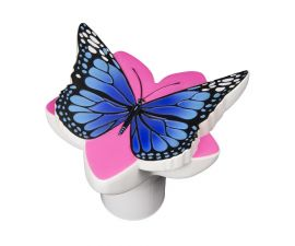Poolmaster Blue Butterfly Chlorine Dispenser for Pool and Spa 32129