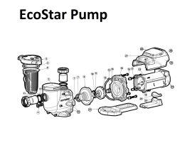 EcoStar SP3400VSP Series Pump Parts