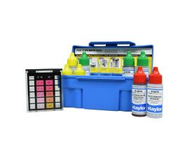 Taylor Technologies K-1004 Safety Plus Swimming Pool Chlorine Bromine pH Alkalinity Test Kit