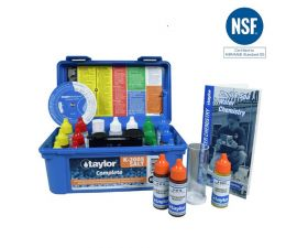 Taylor Technologies K-2005-SALT Complete High Range Pool and Spa Water Test Kit