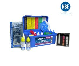 Taylor Technologies  K-2006 Complete Test Kit for Chlorine pH Alkalinity Hardness CYA