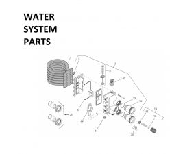 MasterTemp 300K BTU Water System Parts