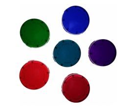 Pentair | 650019 | 6 Pack Color Lens, Spa Light, Brite/Aqua-Light