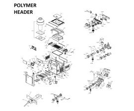 Low Nox 407A POLYMER Headers Heater PARTS