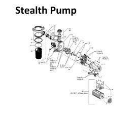 Stealth 1.5HP, 230 Vac, 2 Speed | SHPF1.5-2