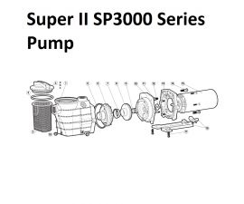 Super II SP3000 Series Pump Parts