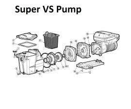 Super Pump VS Pump Parts