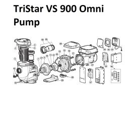 TriStar VS 900 Omni Pump Parts   HL32900VSP