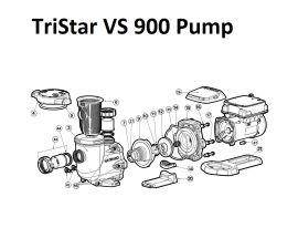 TriStar VS 900 Pump Parts   SP32900VSP