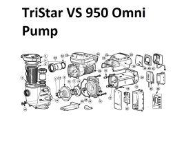 TriStar VS 950 Omni Pump Parts   HL32950VSP