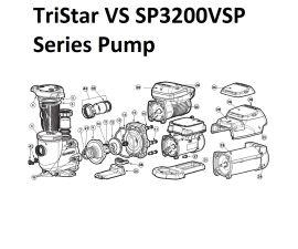 TriStar VS Pump Parts   SP3200VSP Series