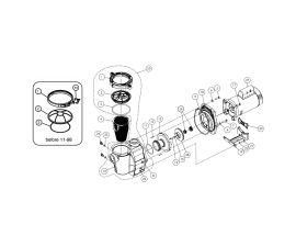 Whisperflo 3/4HP Pump   011771