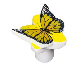 Poolmaster Yellow Butterfly Chlorine Dispenser for Pool & Spa 32128
